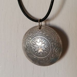 Silver Mandala Pendant